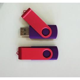 Fioletowo- różowy pendrive 16GB