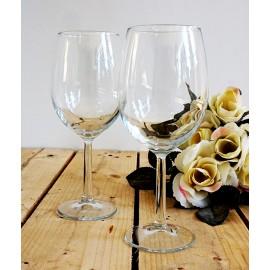 Komplet dwa kieliszki do wina z grawerem