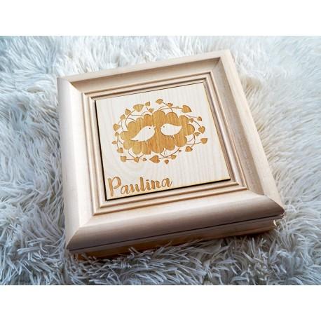 Elegancka szkatułka z Twoim grawerem