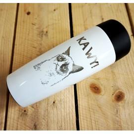 Biały kubek termiczny Air Gifts 320 ml