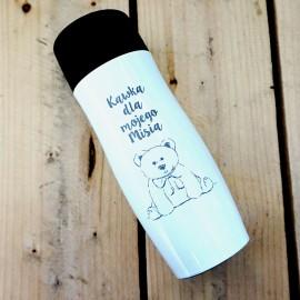 Biały kubek termiczny Air Gifts 350 ml
