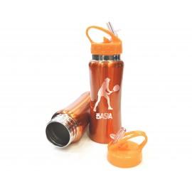 Pomarańczowy bidon sportowy- 600 ml