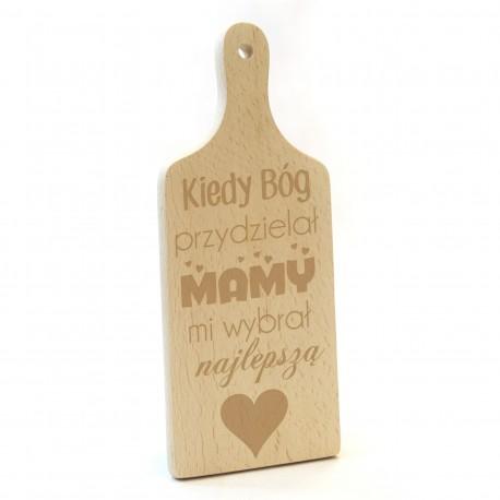 Deska do krojenia - prezent na Dzień Matki