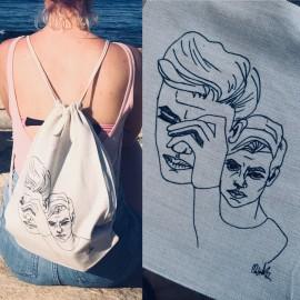 Plecak z niepowtarzalnym nadrukiem