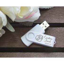 Pendrive na ślubne zdjęcia 16 GB