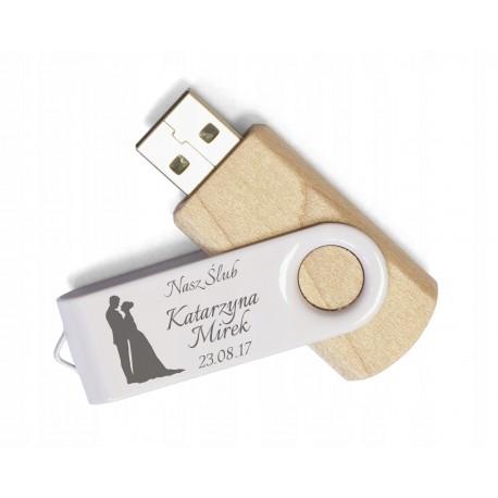 Drewniany pendrive 16 GB