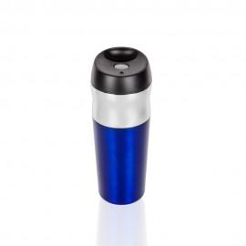 Niebieski kubek termiczny Air Gifts 400 ml