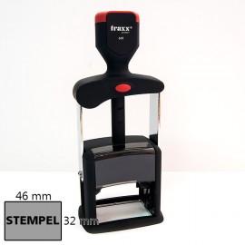 Pieczątka automat samotuszujący exclusive 32x46 mm, tusz czarny