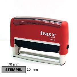 Pieczątka automat samotuszujący - stempel 10x70 mm