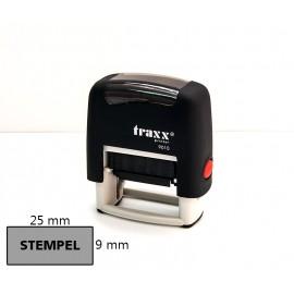 Pieczątka automat samotuszujący ze stemplem 9x25mm