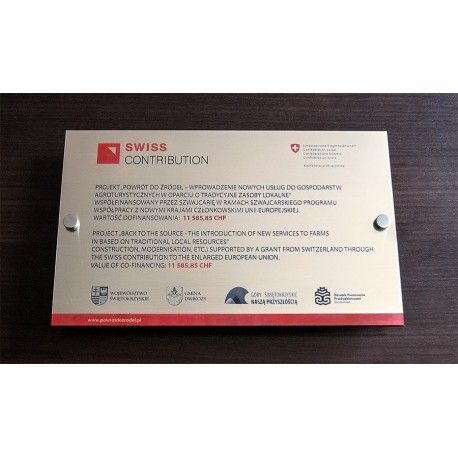 Tabliczka informacyjna 28 x 17 cm